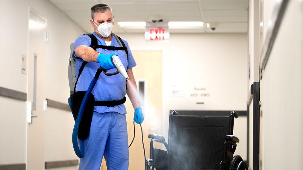 Dezynfekcja w placówkach służby zdrowia